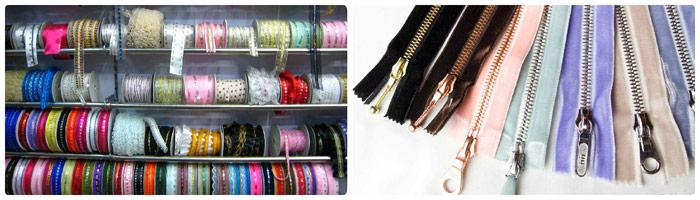 Разновидности швейной фурнитуры